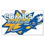 ComicsPriceGuide Rectangle Sticker 10 pk)