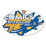 ComicsPriceGuide Oval Sticker