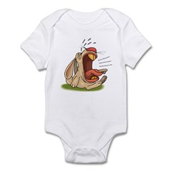 Crying Rabbit Infant Creeper