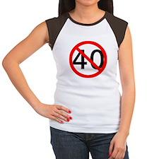 40th Birthday Women's Cap Sleeve T-Shirt