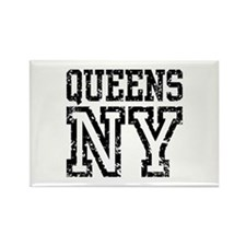Queens NY Rectangle Magnet