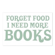 I Need More Books Postcards (Package of 8)