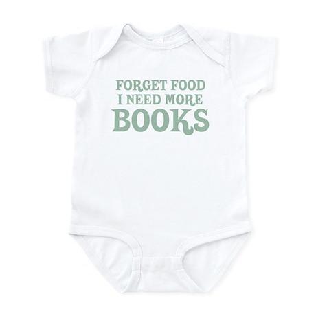I Need More Books Infant Bodysuit