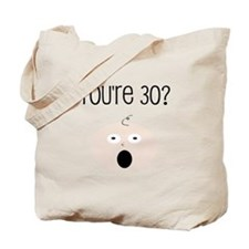 30th Birthday Surprise Tote Bag