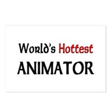 World's Hottest Animator Postcards (Package of 8)