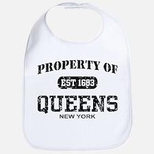 Property of Queens Bib