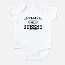 Property of Queens Infant Bodysuit