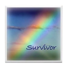 Rainbow Survivor Tile Coaster