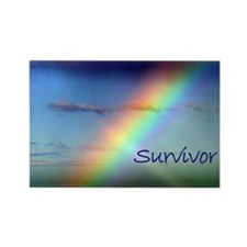 Rainbow Survivor Rectangle Magnet