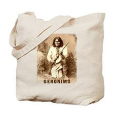 Geronimo Native American Apache Tote Bag