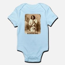 Geronimo Native American Apache Infant Bodysuit