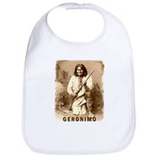Geronimo Native American Apache Bib