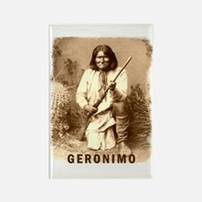 Geronimo Native American Apache Rectangle Magnet
