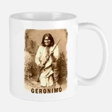 Geronimo Native American Apache Mug