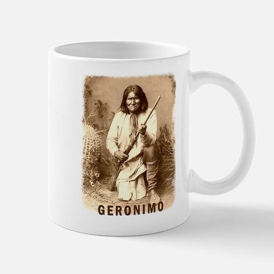 Geronimo Native American Apache Mug