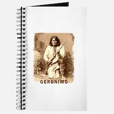 Geronimo Native American Apache Journal