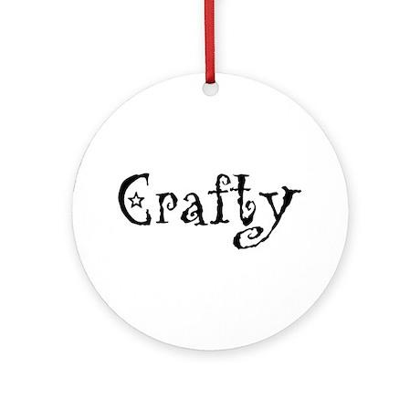 Crafty Ornament (Round)