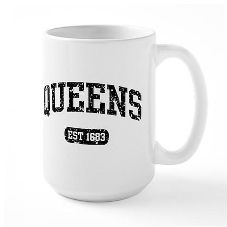 Queens Est 1683 Large Mug