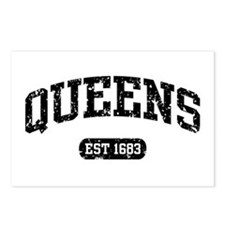 Queens Est 1683 Postcards (Package of 8)