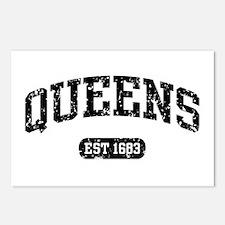 Queens Est 1683 Postcards (Package of 8)