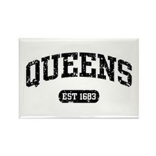 Queens Est 1683 Rectangle Magnet