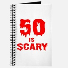 50th Birthday Is Scary Journal