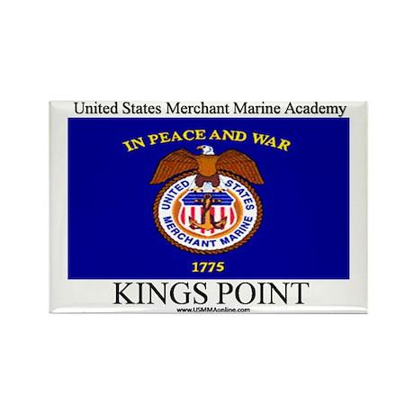 USMM Flag Rectangle Magnet