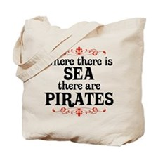 There are Pirates Tote Bag