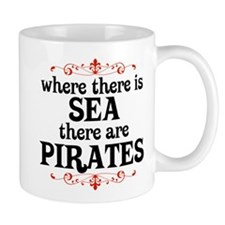 There are Pirates Mug
