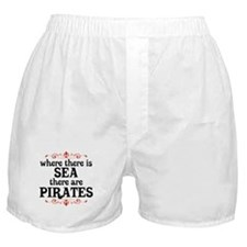 There are Pirates Boxer Shorts