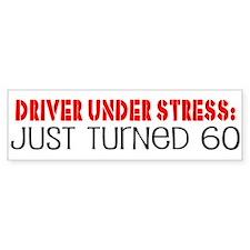 60th Birthday Bumper Bumper Sticker