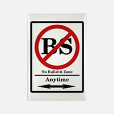 No BS Anytime Rectangle Magnet
