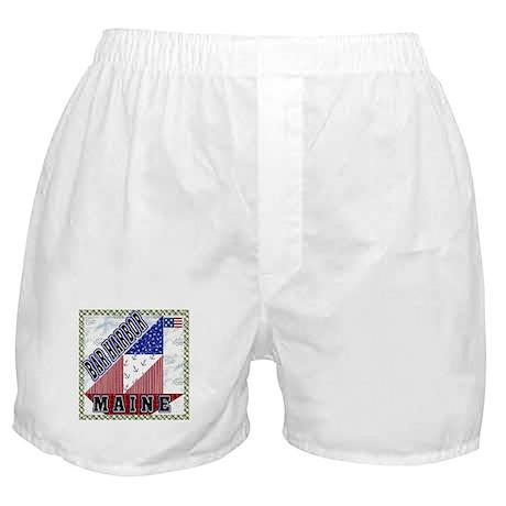 Bar Harbor Maine Boxer Shorts