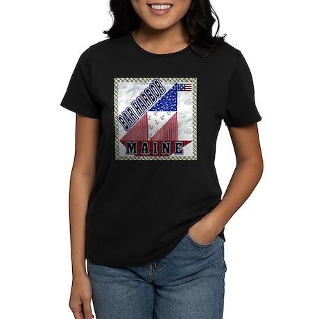 Bar Harbor Maine Women's Dark T-Shirt
