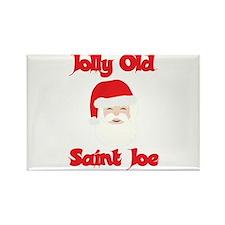 Jolly Old Saint Joe Rectangle Magnet