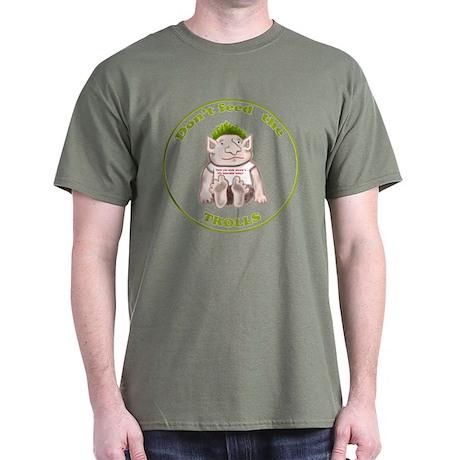 Don't Feed the Trolls Dark T-Shirt