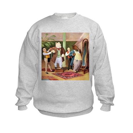 ROOSEVELT BEARS DRESS FOR SUCCESS Kids Sweatshirt