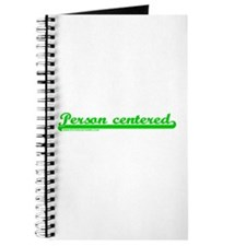 Softball Person Centered Gree Journal
