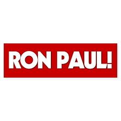 Ron Paul Bumper Bumper Sticker