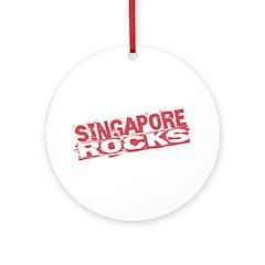 Singapore Rocks Ornament (Round)