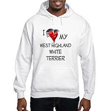 West Highland White Terrier Hoodie