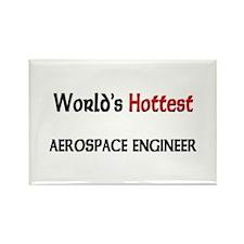 World's Hottest Aerospace Engineer Rectangle Magne