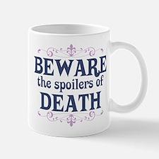 Beware the Spoilers Mug
