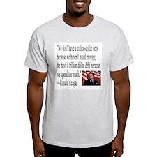 Reagan on Debt and Taxes T-Shirt