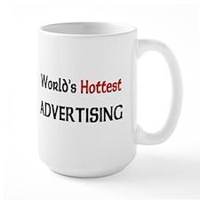 World's Hottest Advertising Large Mug