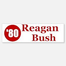 Reagan Bush Bumper Bumper Bumper Sticker