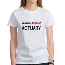 World's Hottest Actuary Tee