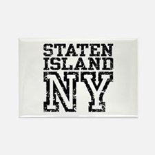 Staten Island NY Rectangle Magnet