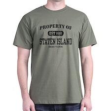 Property of Staten Island T-Shirt
