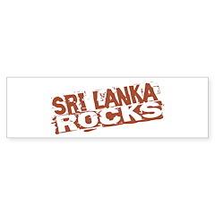 Sri Lanka Rocks Bumper Bumper Sticker